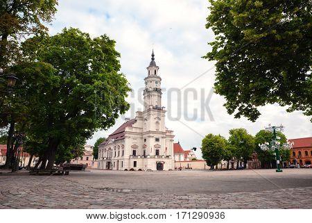 Kaunas City Hall Square, Lithuania