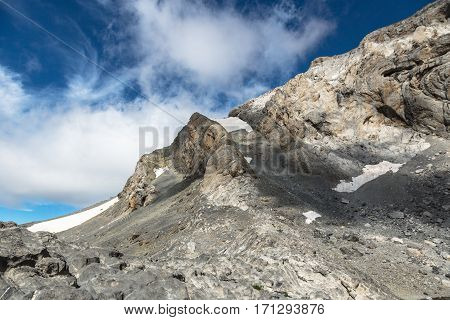 Monte Perdido in Ordesa National Park Huesca. Spain.
