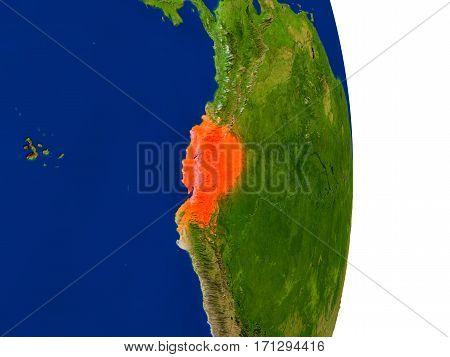 Ecuador On Earth
