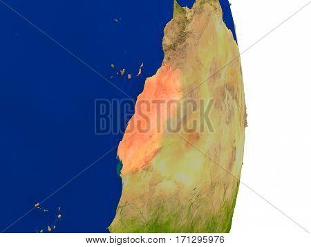Western Sahara On Earth