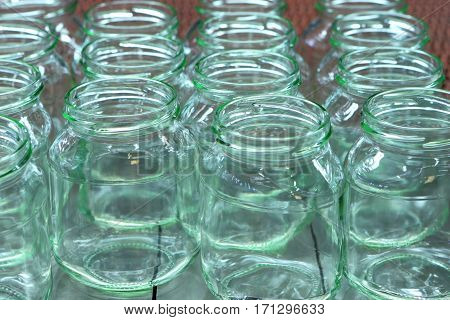 Industrial factory for the production of glass containers
