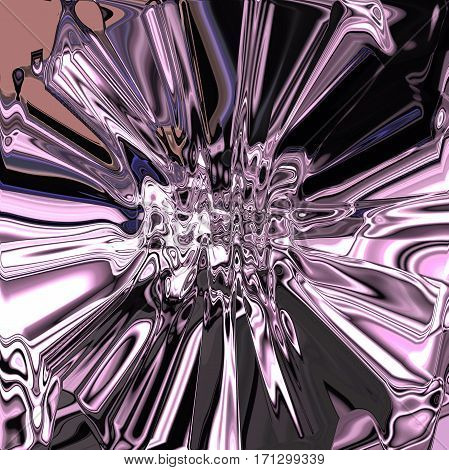 Abstract coloring background of the abstract violet gradient with visual wave,shear,spherize,pinch and lighting effects