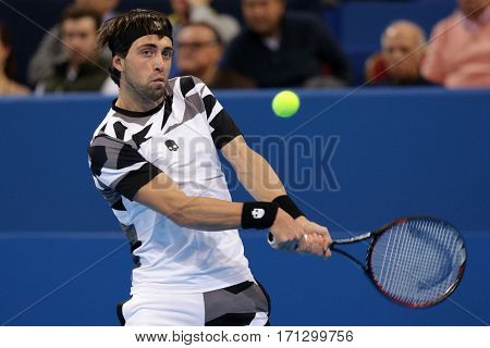 Tennis Player Nikoloz Basilashvili