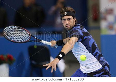 Tennis Player Nikoloz Basilashvili