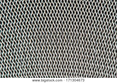 Fine Mesh Sieve Texture fanning out from center