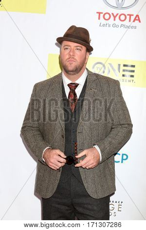 LOS ANGELES - FEB 11:  Chris Sullivan at the 48th NAACP Image Awards Arrivals at Pasadena Conference Center on February 11, 2017 in Pasadena, CA