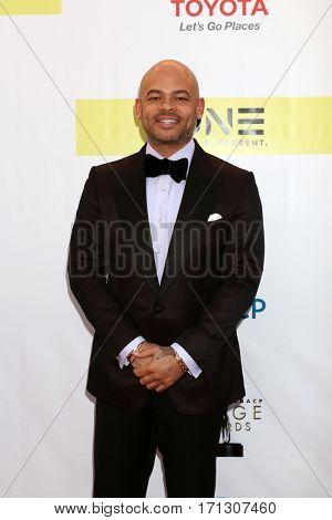 LOS ANGELES - FEB 11:  Anthony Hemingway at the 48th NAACP Image Awards Arrivals at Pasadena Conference Center on February 11, 2017 in Pasadena, CA