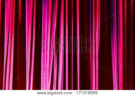 Texture Background Red Curtain.