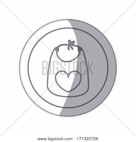 cloth baby icon image, vector illustration design
