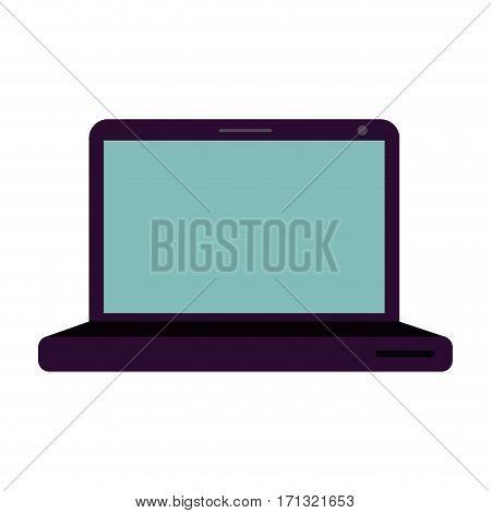 laptop stock icon image, vector illustration design