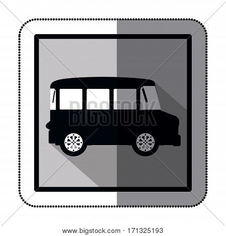 means of transport stock icon image, vector illustration