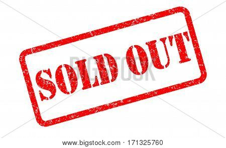 sold out stamp on white background. sold out sign.