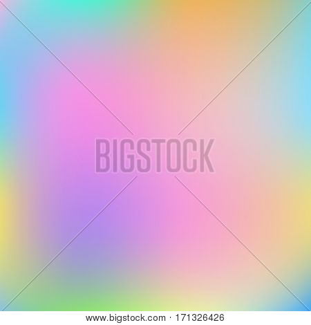 Abstract mixed colorful pastel background vector illustration