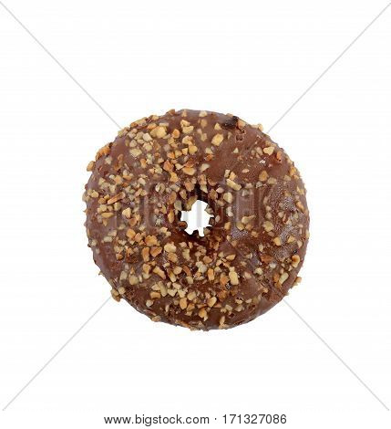 isolated donut on white background with clipping-path