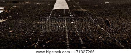 Asphalt, asphalt texture, asphalt background, scabrous asphalt. Road marking. Grunge background.
