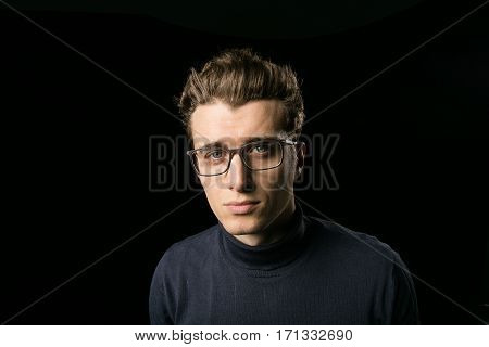 Smart Guy With Glasses