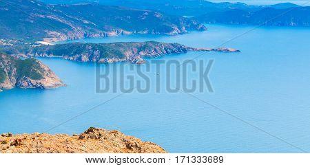 Island Corsica. Corse-du-sud