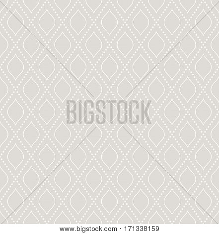 Geometric repeating light pattern. Seamless abstract modern texture for wallpapers and backgrounds
