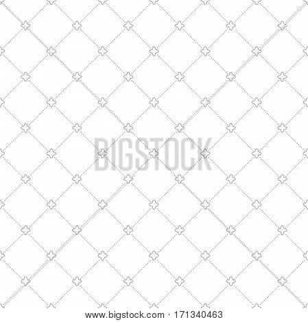 Geometric abstract background. Seamless modern light silver pattern