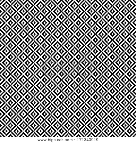Geometric abstract pattern. Seamless modern background. Black and white pattern