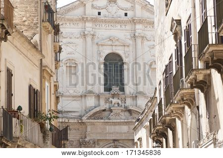Baroque Church Of St. Irene In Lecce