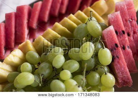Sliced Fresh Fruit
