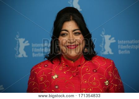 Gurinder Chadha attends the 'Viceroy's House' photo call during the 67th Berlinale International Film Festival Berlin at Grand Hyatt Hotel on February 12, 2017 in Berlin, Germany.