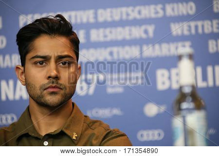 Manish Dayal attends the 'Viceroy's House' press conference during the 67th Berlinale International Film Festival Berlin at Grand Hyatt Hotel on February 12, 2017 in Berlin, Germany.