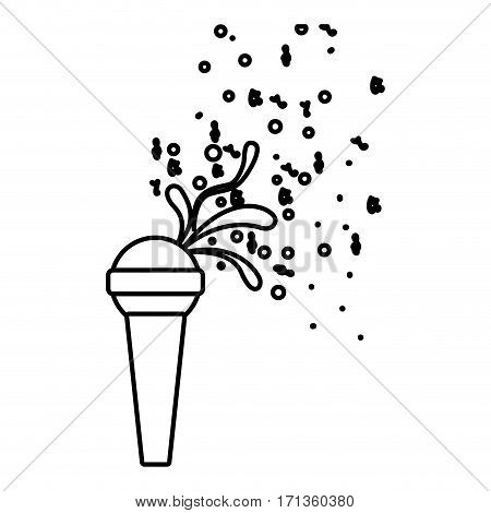 microphone icon stock image, vector illustration design