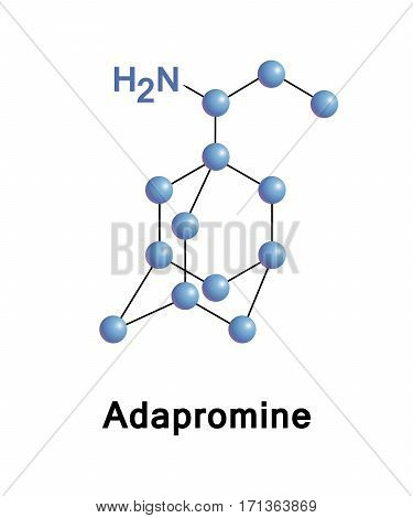 Adapromine is an antiviral drug of the adamantane group is used for the treatment and prevention of influenza