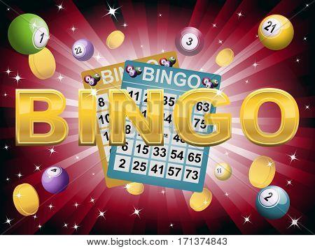 Bingo jackpot background