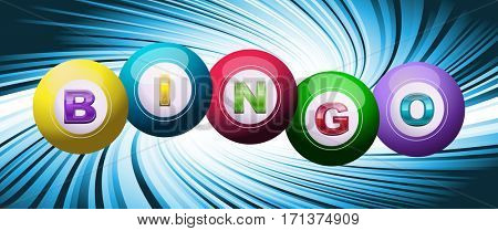 Bingo or lotto background