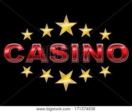 Elegant casino logo