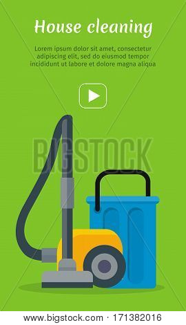 Vacuum cleaner icon. Electrical vacuum cleaner hoover. Equipment for house cleaning tool device. Domestic cleaning machine symbol sign in flat style. Vacuum sweeper. Vector