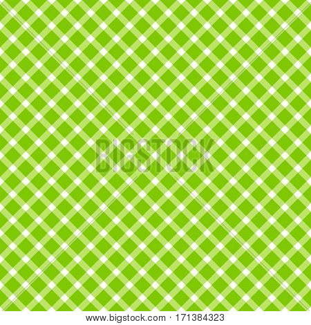 Seamless Checkered Table Cloth Pattern