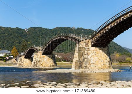 Kintai Bridge at Japan