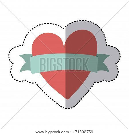 heart icon stock image, vector illustration design