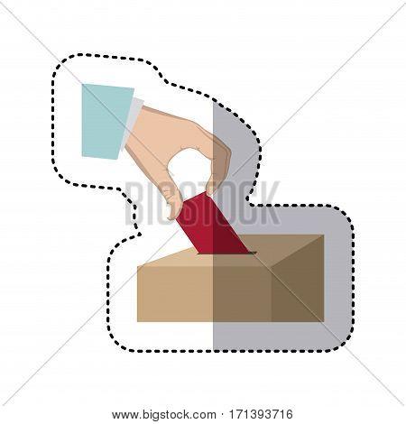 people vote icon image design, vector illustration