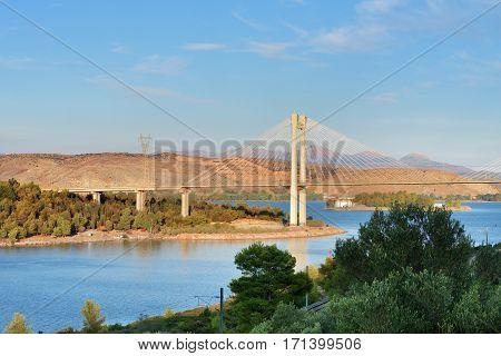 Bridge In Chalcis, Greece