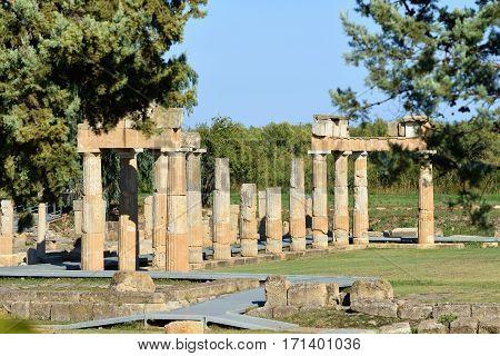 Artemis Of Vravrona Temple, Greece