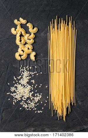 Assortment Of Dry Pasta