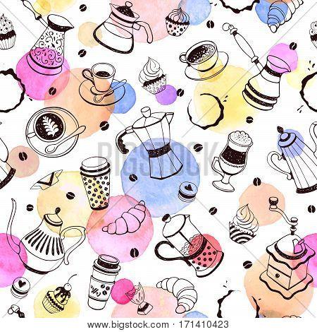 Coffee Time Pattern