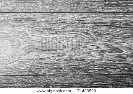 Black and white art photography monochrome wooden old vintage blank background .Brown wood texture. Abstract background empty template. Top View of retro Wooden Table