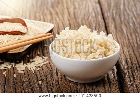 Cooked Brown Rice