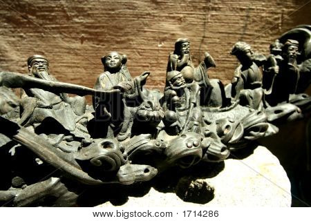 Small Chinese Statues