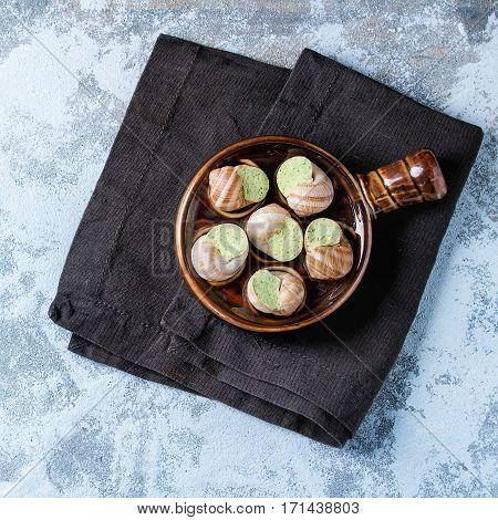 Uncooked Escargots De Bourgogne Snails