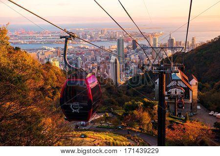 Kobe Ropeway Cable Car