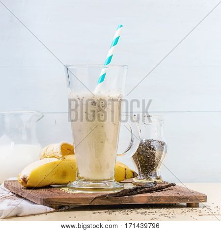 Milk Banana Smoothie