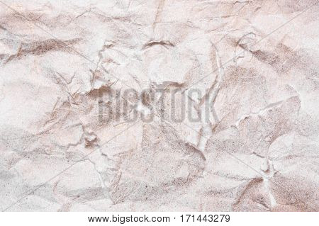 The texture of paper ragged yellow background