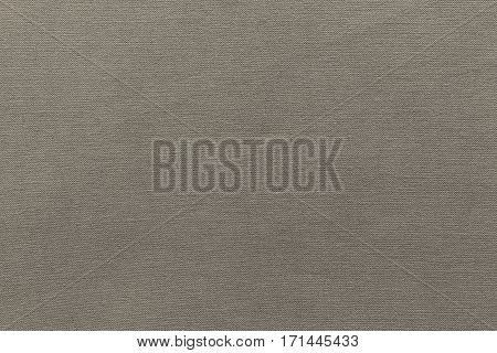 texture and background of rough fabric or cotton material of beige color